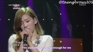 Download Video [ENG Lyrics] 130111 SNSD Taeyeon Tiffany - Lost in Love 유리아이 @ MB MP3 3GP MP4