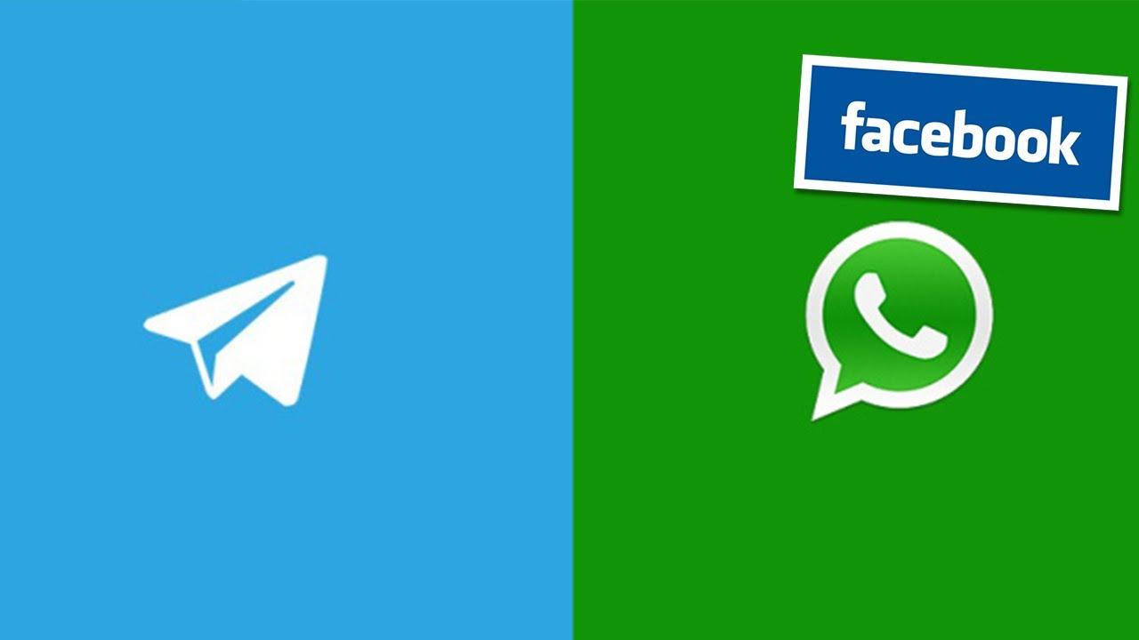 Whatsapp Vs Telegram Youtube
