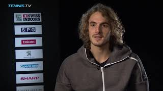 Tsitsipas Reveals The Tactic He Wants To Use More In Basel 2018