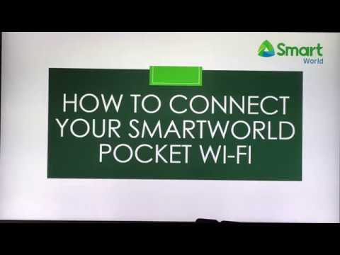 HOW TO CONNECT POCKET WIFI
