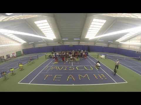 Good Luck, US Davis Cup Team!