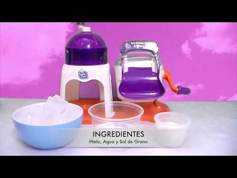 DIY - Maquina de Helados y Raspados - Ice Cream Maker and Slushy Duo Tasten Fun - 1ra. Parte