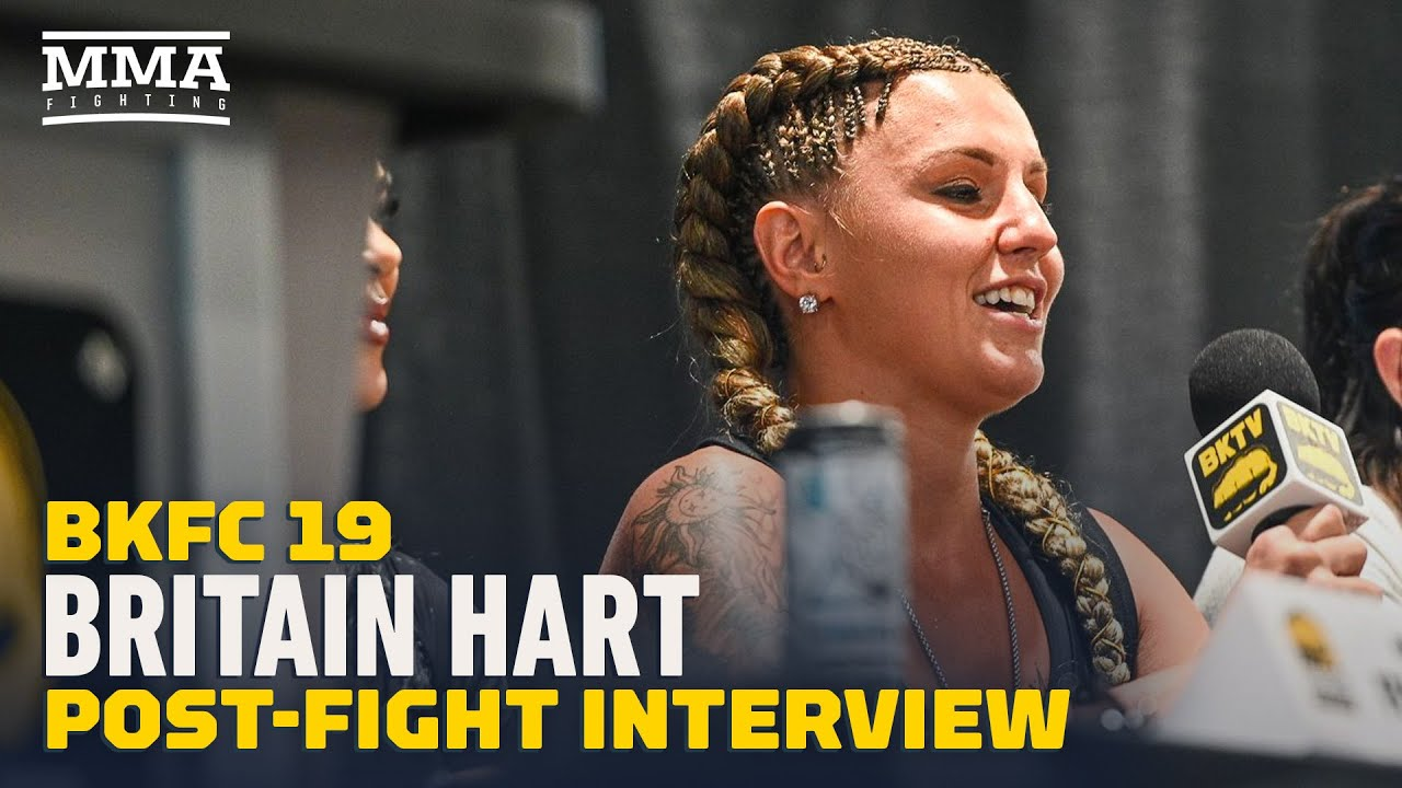 Britain Hart Open To 'Easy Fight' With Pearl Gonzalez Next   BKFC 19   MMA Fighting