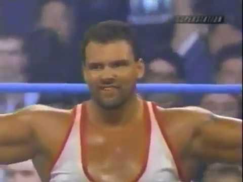Carl Ouellet (PCO) vs Big Vito (WCW 2000) - YouTube