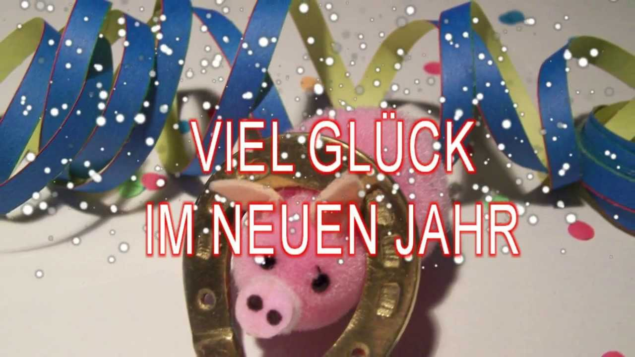 Silvester 2018/19 GLÜCKWÜNSCHE - YouTube