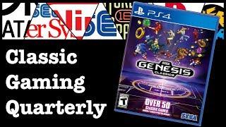 CGQ Live - Sega Genesis Classics on the PS4