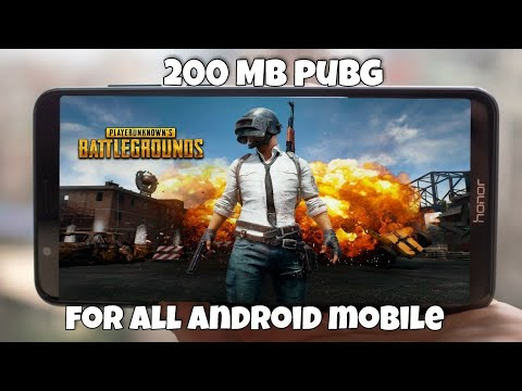 [200 MB] Download Now PUBG Game For Android || Compatible With All Devices