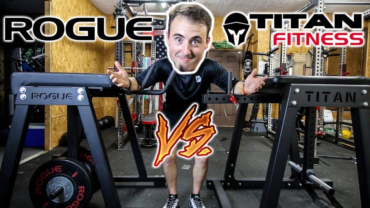 Titan reverse hyper vs rogue reverse hyper showdown youtube