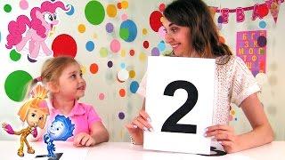 УЧИМ ЦИФРЫ ОТ 1 до 10. Развивающее видео для детей | Супер Ева