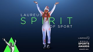 Goosebumps! An emotional Lindsey Vonn receives standing ovation as she's honoured in Monaco