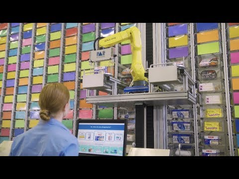 Robotic Storage and Retrieval System for Automated Order Fulfillment - PaR Systems