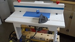 Router Table Construction Updates
