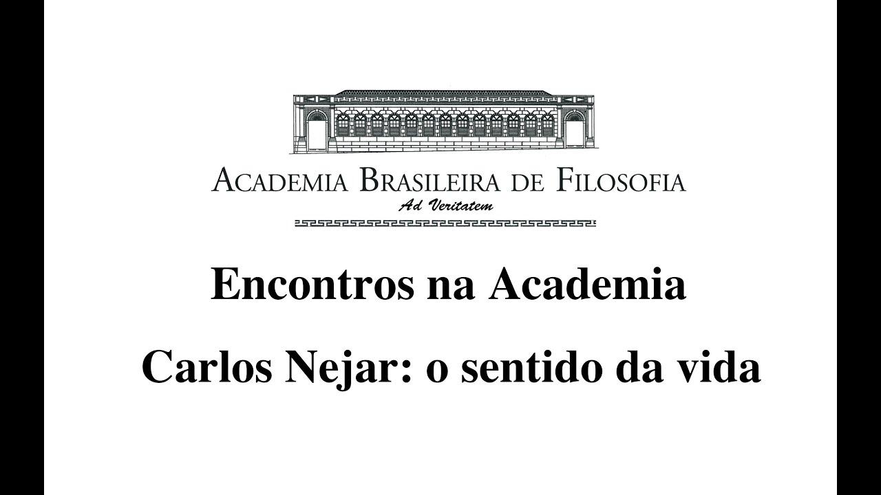 Conversas na Academia: Carlos Nejar