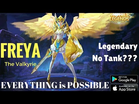 Freya GamePlay, Legendary!, No Tank?? == No Problem!! [by: Sitole]