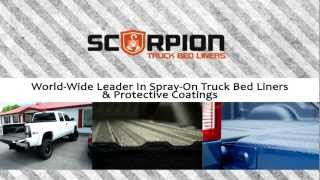 Spray On Truck Bed Liner Manufacturer - Scorpion Truck Bed Liners