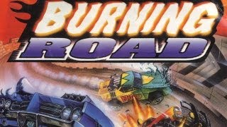 Classic Game Room - BURNING ROAD review for PlayStation