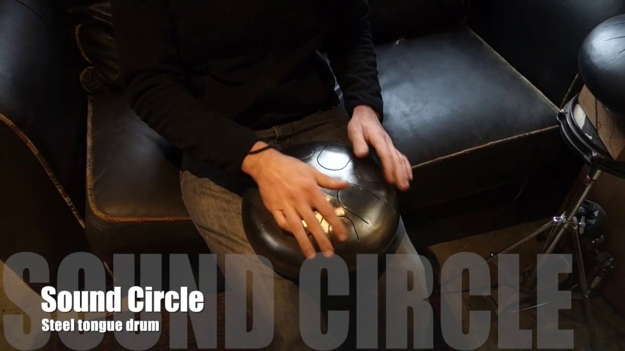 Steel tongue drum en Do lydien - Sound Circle