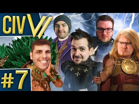 Civ VI: Eye of the Storm #7 - Spicy Civilizations
