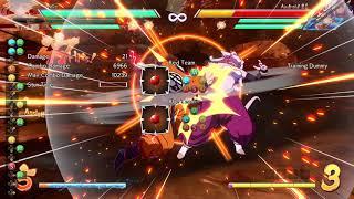 DRAGON BALL FighterZ - Base Goku corner 2 man Sparking TOD with Base Vegeta