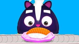 ГОТОВКА ЧЕЛЛЕНДЖ МАСТЕР СУШИ развлекательное видео для детей мультяшная веселая игра #ПУРУМЧАТА