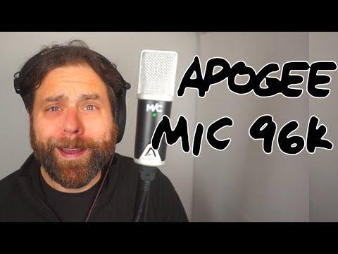 USB MIC WEEK: Apogee Mic 96k