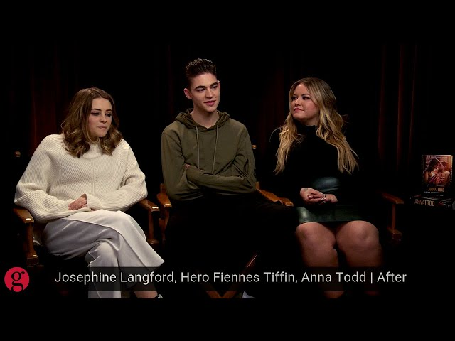 Josephine Langford, Hero Fiennes Tiffin, Anna Todd | After