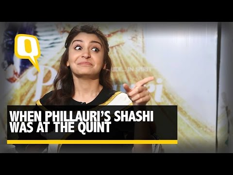 The Quint: Anushka Sharma's Doppelganger, Shashi Takes Over A Quint Interview