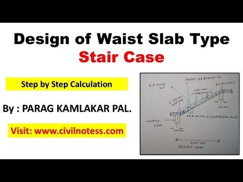 Numerical  : Stair Case Design