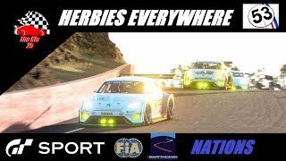 GT Sport Herbies Everywhere - FIA Nations GR.3 Bathurst Top Split