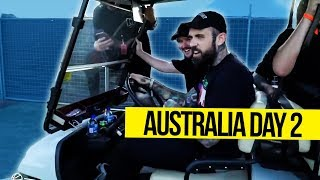 I Stole A Golf Cart at an EDM Festival in Australia
