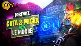 FORTNITE ► GOTAGA & MICKALOW VS LE MONDE