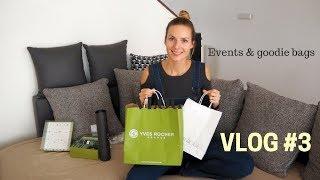 VLOG #3 / Event Yves Rocher & Clinique / Armani Exchange Centrum Chodov Opening / Iva Vašková