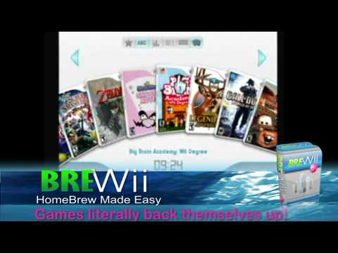 how to get and install the best homebrew apps for Nintendo Wii