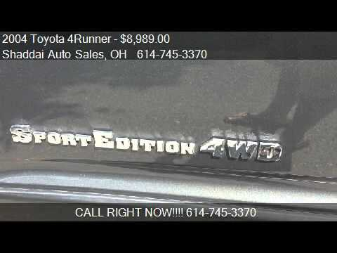 2004 Toyota 4Runner Sport Edition 4WD 4dr SUV for sale in Wh