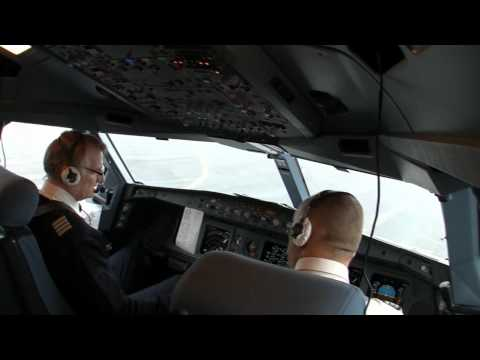 A330-300 Copenhagen-Chicago Part 1 Taxi