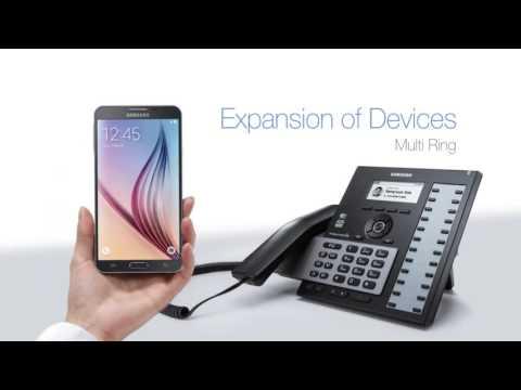 Samsung Cloud VoIP deskphones - Wired & WiFi/Wireless 2018 range