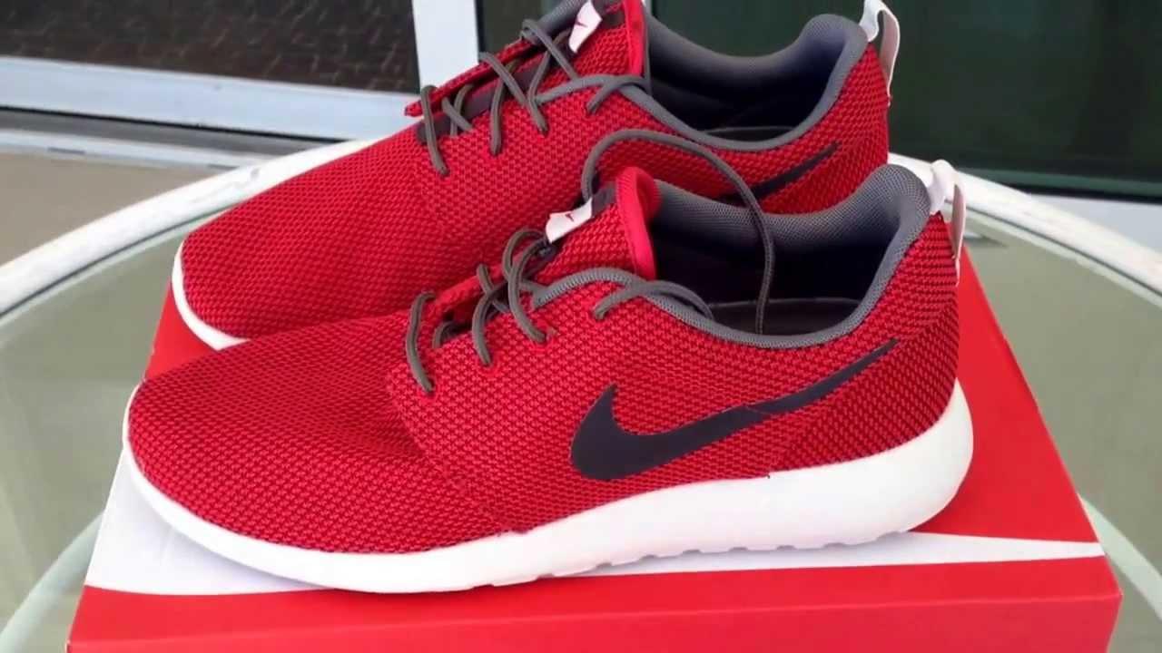 red roshe run