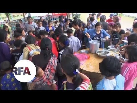 Kachin Civilians Flee Fighting in Northern Myanmar | Radio Free Asia (RFA)