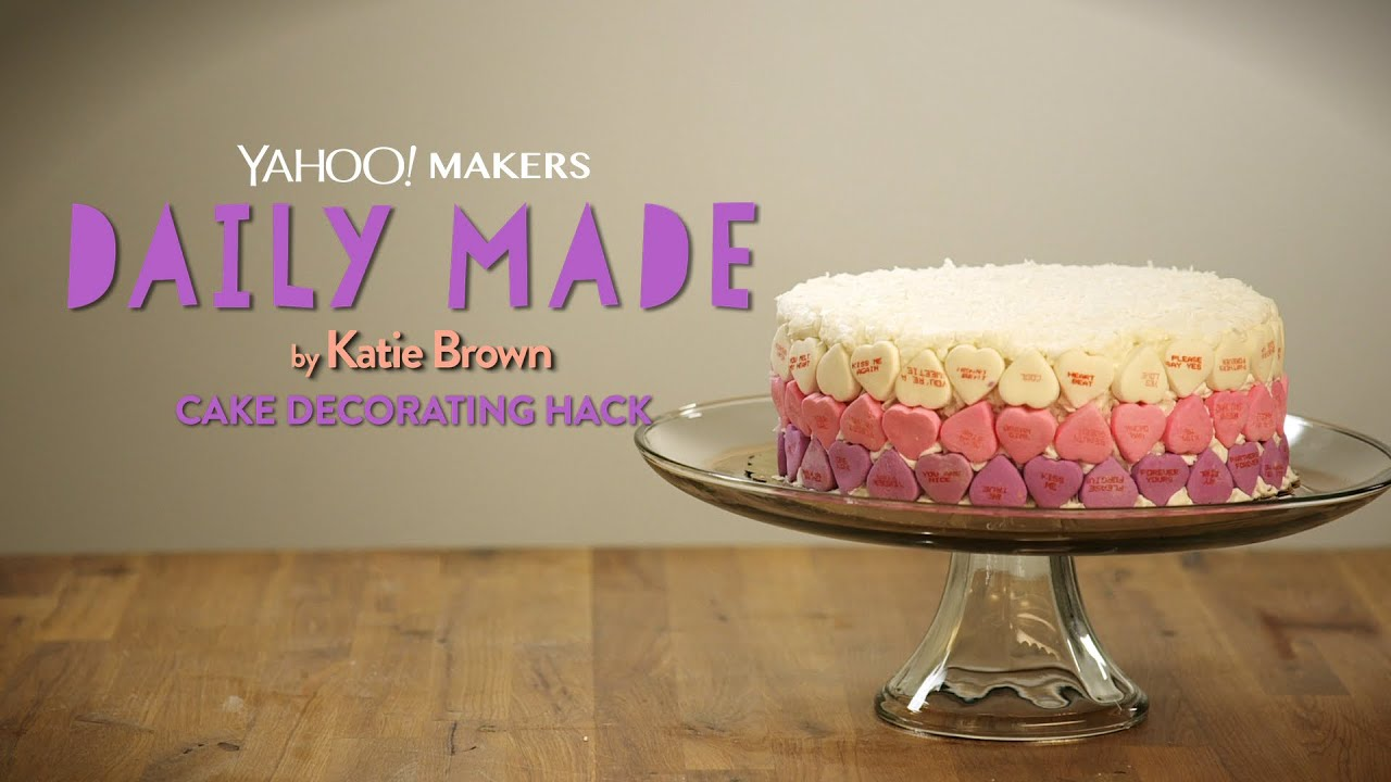 Cake Decorating Hacks : Easy Cake Decorating Hack- Daily Made on Yahoo Makers ...