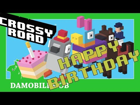 ★ CROSSY ROAD All Secret Mystery Characters Unlocked | Crossy Road 3rd Birthday Update!