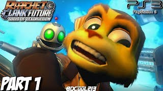 Ratchet & Clank Future Tools of Destruction Gameplay Walkthrough Part 1 - PS3 Lets Play