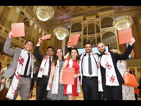 Hertie School Graduate Programmes Graduation 2017