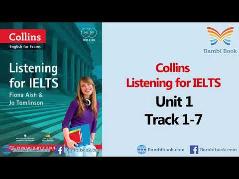 Collins Listening For IELTS Unit 1 Track 1-7