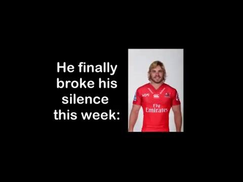 Faf de klerk on his move to Sale Sharks