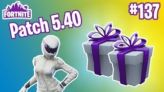 Patch 5.40 | WE HAVE GIFTS!, New Heroes, Smorgasbord Llamas | Fortnite #137