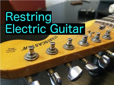 how-to-restring-an-electric-guitar-properly-(vintage-style)
