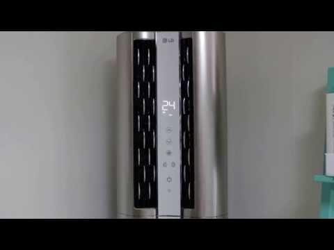LG 휘센 듀얼 에어컨 듀얼절전냉방 작동모습