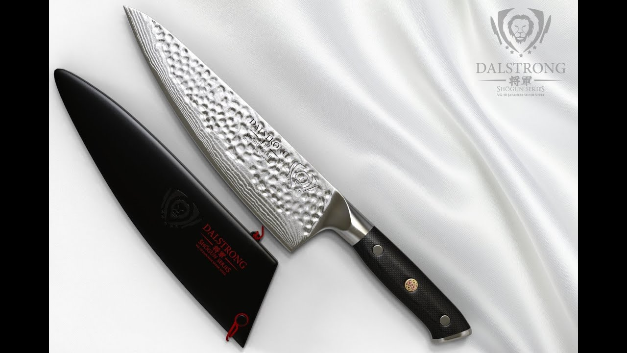 dalstrong chef knife shogun series x gyuto youtube. Black Bedroom Furniture Sets. Home Design Ideas
