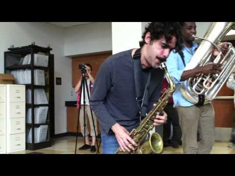 Stay Human Band performs at Boston Latin School 2013