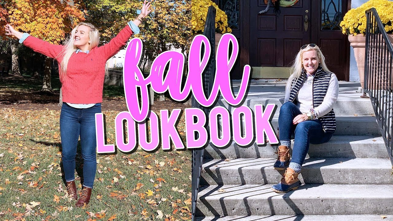 [VIDEO] - PREPPY FALL LOOKBOOK!! FALL FASHION 2019 (LLBean Boots, HUNTER Boots, JCrew & MORE) || Kellyprepster 2